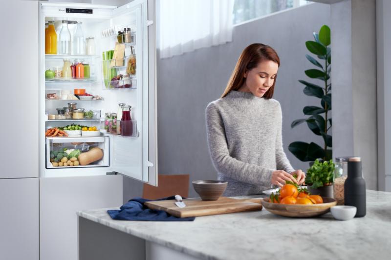 V chladničkách Electrolux jsou všechny suroviny přehledně a vždy na dosah