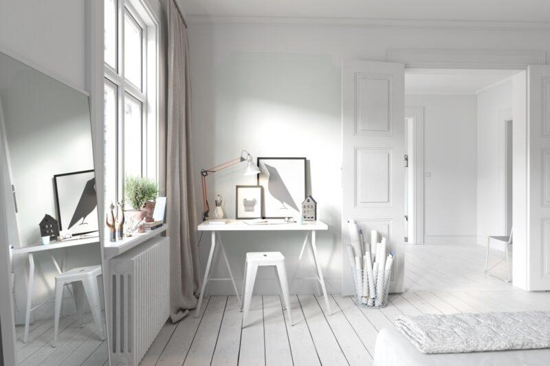 Bílé Fortissimo přinese do každého interiéru čistotu i vzdušnost
