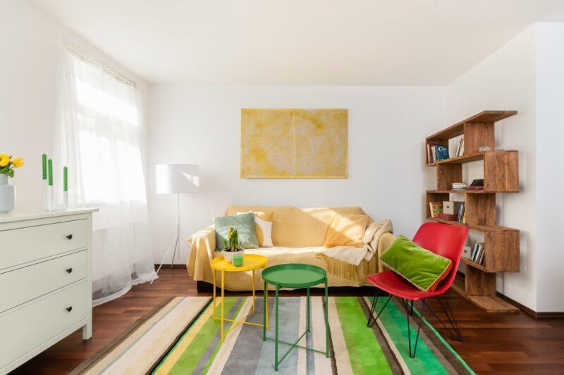 Přivítejte jaro obývacím pokojem v boho stylu
