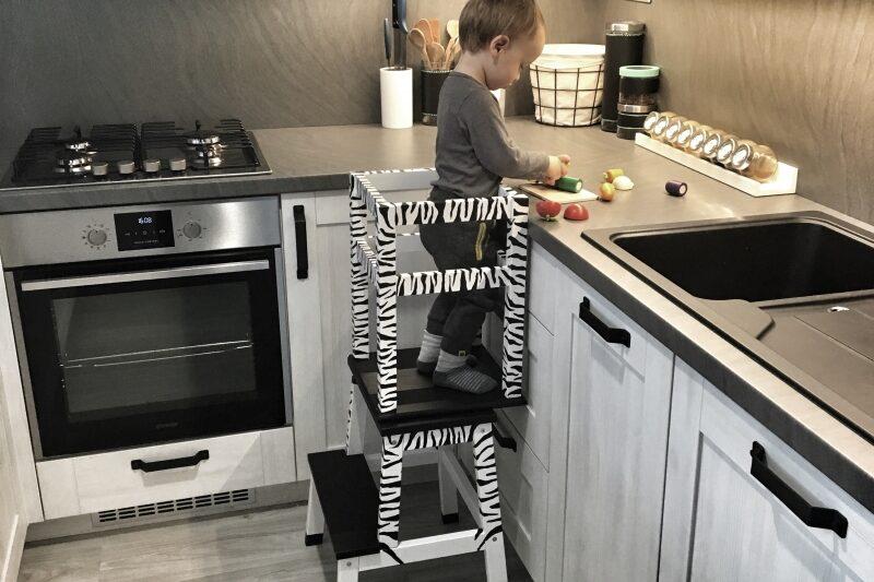 Učicí věž pro malé kuchaře