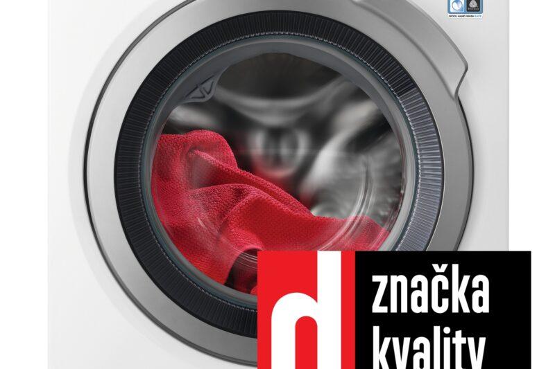 Časopis dTest označil pračku AEG s funkcí AutoDose jako značku kvality