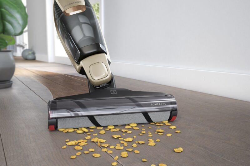Ergorapido PowerPro: Specialista na tvrdé podlahy, který si poradí s každým smítkem