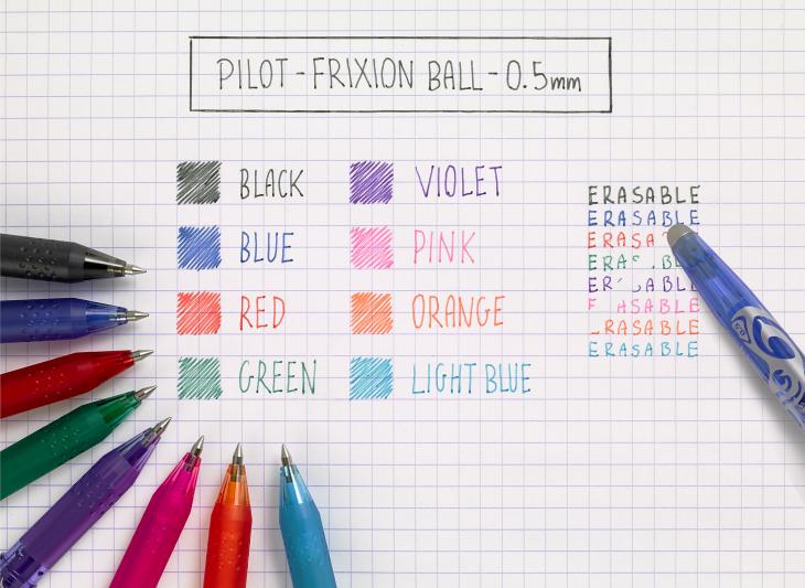 Pilot FriXion Ball, 72 Kč