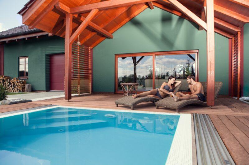 Myslete na bazén už při stavbě domu
