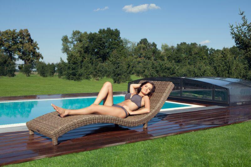 Špičkový bazén se zastřešením, čerpadlem a filtrací za 99 000 Kč