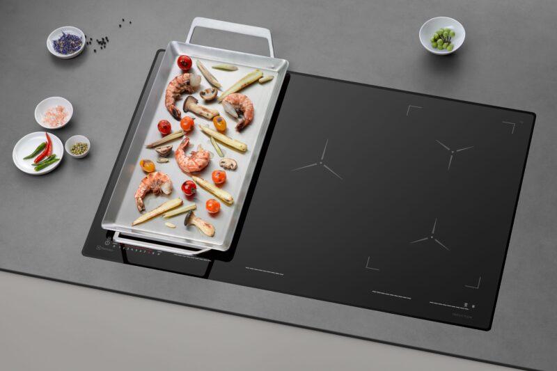 Nové indukční varné desky Electrolux: Snadná cesta k dokonalé chuti