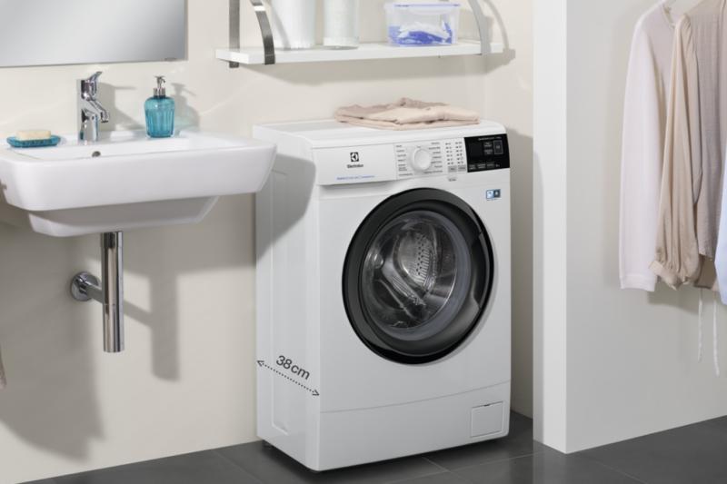 Maximální péče o prádlo v kompaktních rozměrech