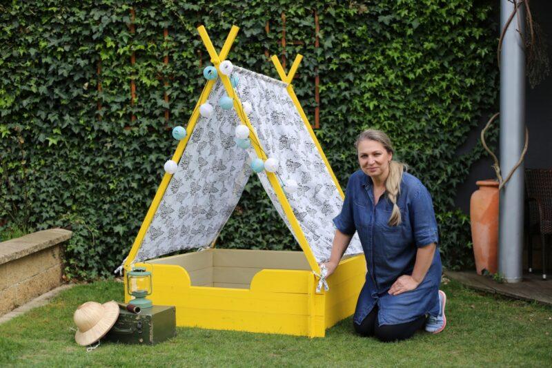 Balakryl RECY věci letos jinak – 2. část: Jak vyrobit dětské teepee a domeček pro panenky