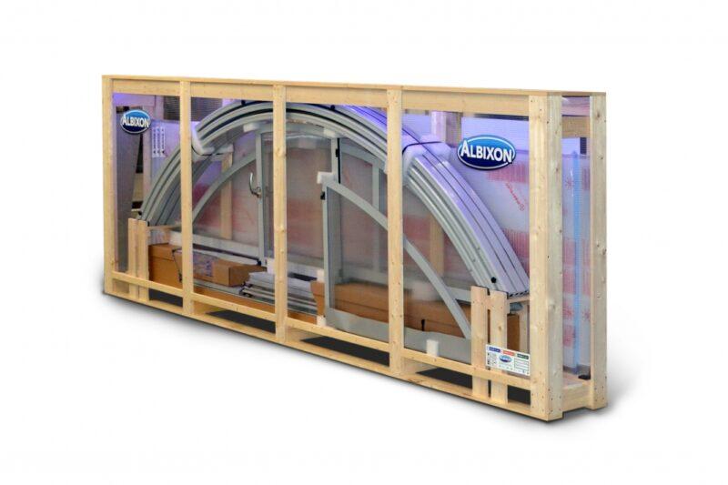 Zastřešení ALBIXON BOX – snadná instalace, kterou zvládnete sami