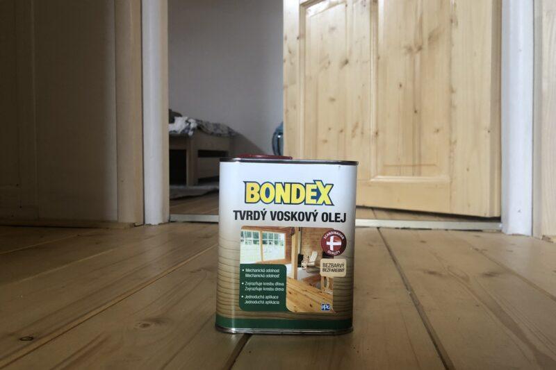 BONDEX Tvrdý voskový olej – tvrdý k nečistotám, jemný k dětem