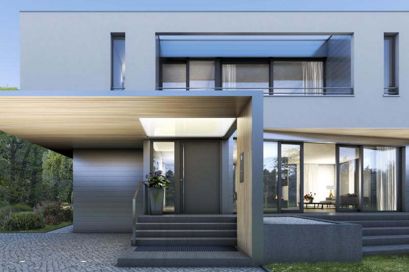 Moderní profil pro vchodové dveře