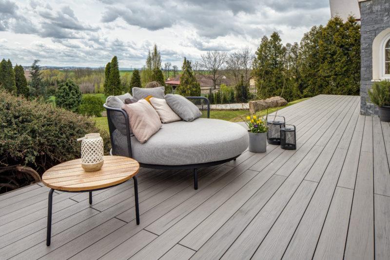 Montáž dřevoplastové terasy krok za krokem                                                                                                                  Majestic Massive Pro z materiálu Twinson