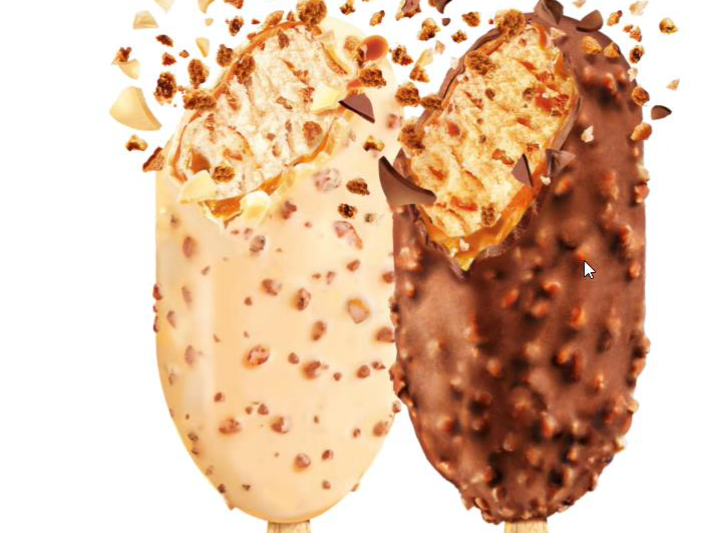 Nanuk Lotus Biscoff v bílé a mléčné čokoládě